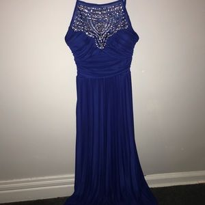 11/12- Royal Blue Prom Dress